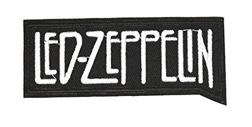 Parche Bordado Termoadhesivo Led Zeppelin 10 cm