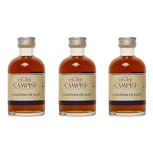 CAMPISI | Colatura di Alici - Italienische Sardellen Würzsauce | 100 ml | pz. (3)