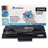 LOSMANN - Tóner compatible con impresoras láser Samsung SCX-D4200A / ELS para Samsung SCX-4200 SCX-4200D3 SCX-4200F SCX-4200R, SCX-4200 D3 SCX-4200 F SCX-4200 R (negro, 3000 páginas), color 1x Toner