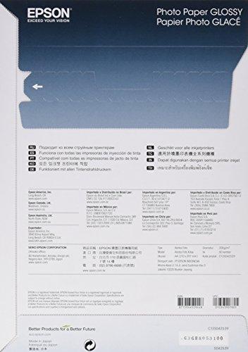 EPSON Foto Papier  glänzend  A4 50 Blatt 1er-Pack - 2
