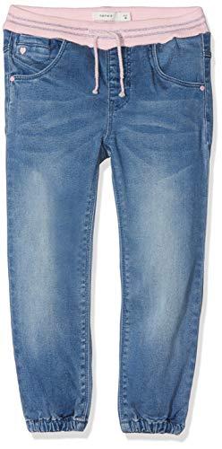 NAME IT Baby-Mädchen Jeans NMFBIBI DNMTORA 2082 Pant NOOS, Blau Medium Blue Denim, 86
