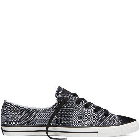 Converse Unisex Chuck Taylor All Star Ox Low Top Black Print Sneakers - 7.5 B(M) US Women/5.5 D(M) US Men Converse Chuck Taylor Print Sneaker