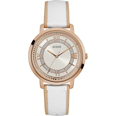 Guess Analogue Silver Dial Women's Watch - W0934L1 image