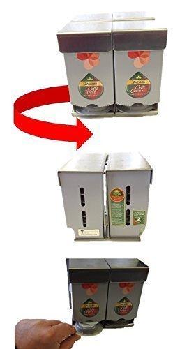Carousel / Karussel T-Disc Halter, 1-tlg., für 32 T-Discs, Kaffee Kapselhalter, Edelstahl drehbar Modell 2016 T-disc Carousel