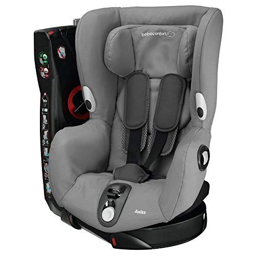 Bébé Confort Axiss Seggiolino Auto 9-18 kg, Gruppo 1 per Bambini dai 9 Mesi ai 4 Anni, Reclinabile e Girevole, Colore Concrete Grey
