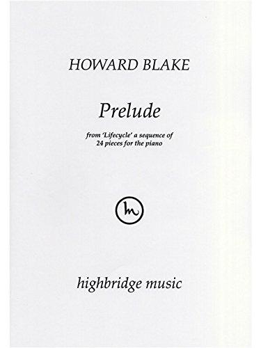 Howard Blake: Prelude. Für Klavier