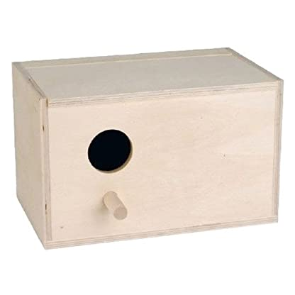 Beeztees Wooden Breeding Box Hole Left, 24, 5 x 15, 5 x 16 cm 1