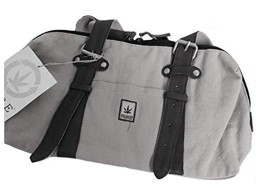 Petite Satchel Handtasche (Pure Handtasche 55% Hanf HF-0075 Petite Classic 32 x17 cm (Ice))