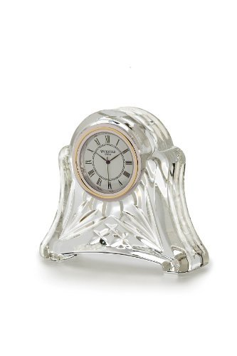 Waterford Heritage Small Abbey Clock by Waterford Heritage-crystal-crystal