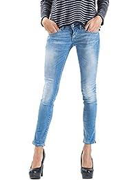 Meltin'Pot - Jeans MARYON D2023-UK441 para mujer, estilo leggings, ajuste ceñido, talle baja