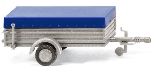 Preisvergleich Produktbild 005603 - Wiking - Pkw-Anhänger mit niedriger Plane