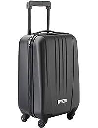 Cabin Max – Valise de cabine rigide en ABS ultrarésistant a 4 roues multidirectionnelles – En Noir