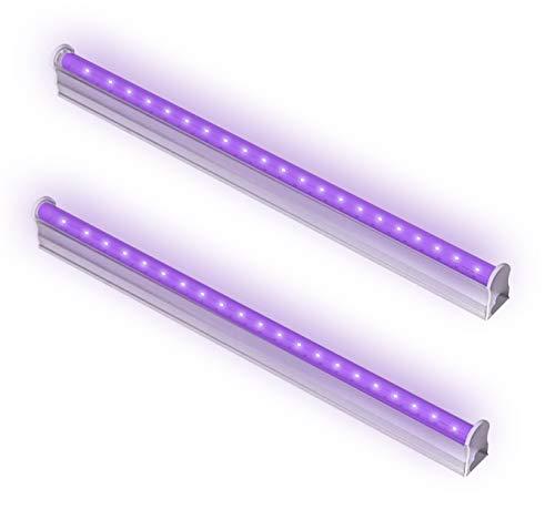 Bomcosy Luz LED ultravioleta UV 395 nm, funciona con USB, 2 unidades