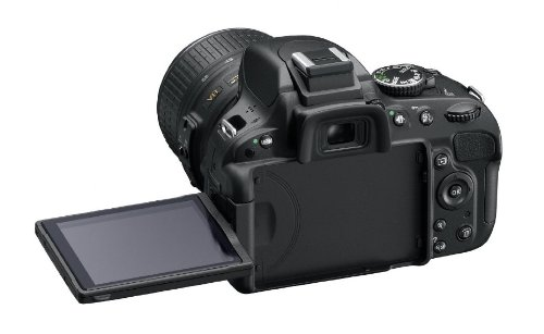 Nikon D5100 16.2MP Digital SLR Camera Body Only (Black) with 4GB Card, Camera Bag