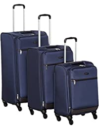 AmazonBasics Set of 3 Softsided Trolleys