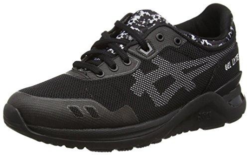 Asics Gel-Lyte Evo, Sneaker Basse Unisex - Adulto Nero (Black (Black/White 9001))