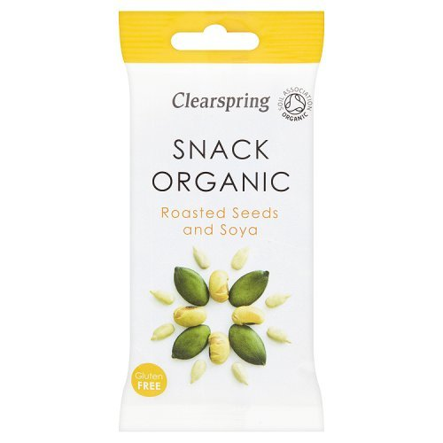 Clearspring Organic Roasted Seeds and Soya, 35g Test