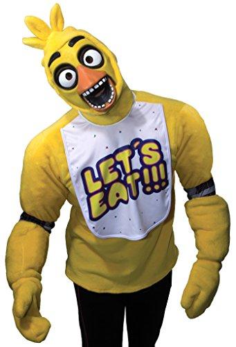 Kostüme Freddy Kinder (Rubie 's Offizielles Fünf Nächte bei Freddy Chica, Erwachsene Kostüm–Standard)