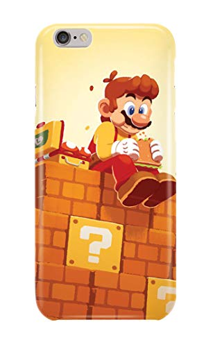 Case Me Up Handy Hülle für iPhone 6 6s Super Mario Bros Luigi Old School Game Designs