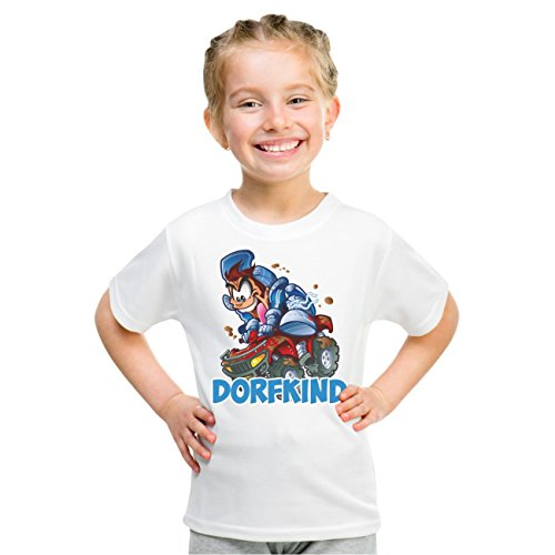 Kinder T-Shirt DORFKIND Weiß