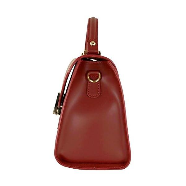 Top handle Leather bag Madison - handmade-bags