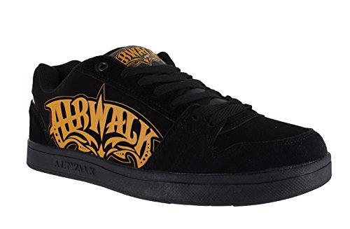 airwalk-mens-casual-skate-lace-up-padded-shoes-trainers-uk-7-triple-x-black-orange