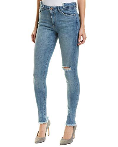 DL1961 Womens Farrow Ankle Stretch Skinny Jeans Blue 26