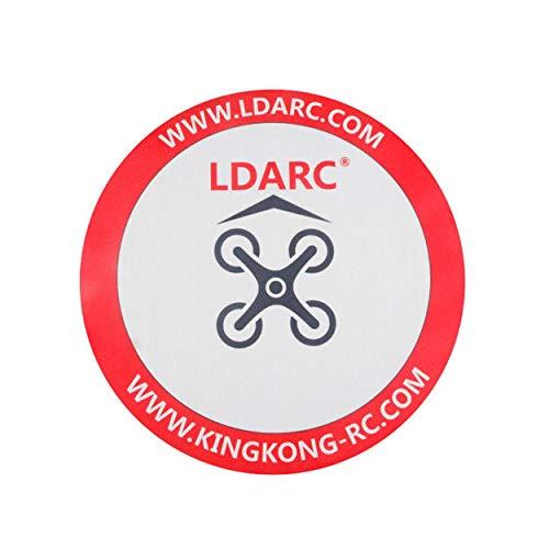 Lorenlli Para LDARC 250 mm Racing Delantal Take Off Landing para Tiny R7 6X 7X 8X ET Series FPV RC Drone Quadcopter Juego Competición Accesorios