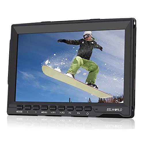 """LFTS 7""""IPS Ultradünnes Design 1280 x 800 HDMI HD-Feldmonitor mit Kamera Weitwinkel-IPS-Panel mit Peaking Focus TV-Nachrichten und Sendeanstalt für die Postproduktion Programmiert"""
