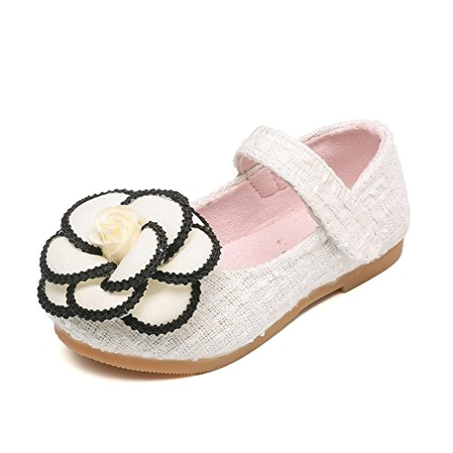 Transer® Kids Girls Flower School Shoes, Toddler Baby Princess Shoes