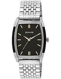Sonata Analog Black Dial Men's Watch - NF7080SM02