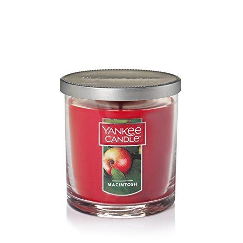 YANKEE CANDLE Macintosh Tumbler klein Arbeitshemd Kerze, Glas, rot, Einheitsgröße