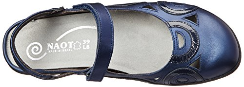 Naot Womens Rongo Leather Sandals Polar Sea Navy