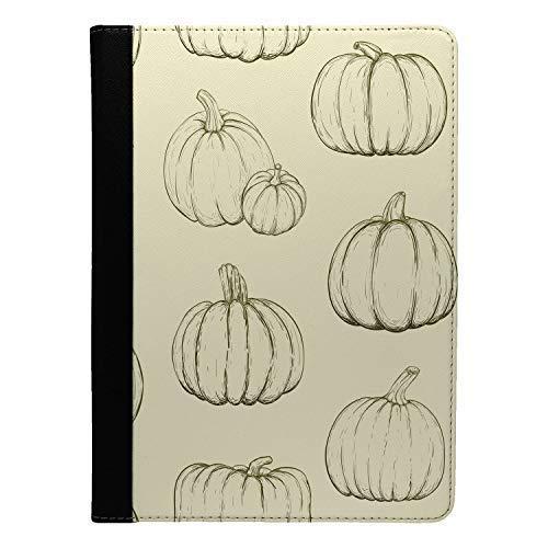 Accessories4Life Halloween Kürbis Muster Bedruckt Flip Etui Hülle für Apple Ipad pro 10.5 - S4023