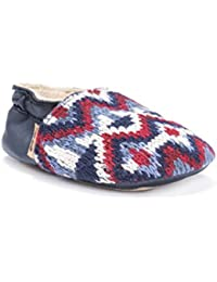 MUK LUKS Kids Baby Soft Shoes-Galaxy Mary Jane Flat