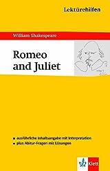 Klett Lektürehilfen Romeo and Juliet: für Oberstufe und Abitur