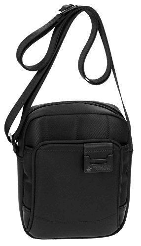 Beverly Hills Polo Club Bolt Borsa Messenger, 20 cm, 2.81 liters, Blu (Azul) Nero