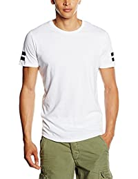 JACK & JONES Herren T-Shirt Jcoboro Tee SS Crew Neck