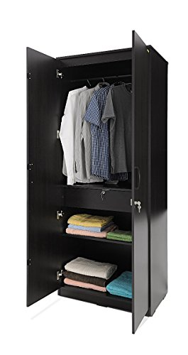 Zuari Two-Door Wardrobe (Brown)  available at amazon for Rs.15900