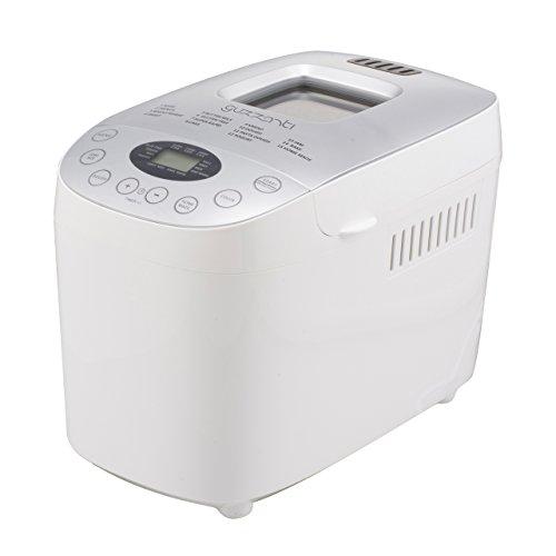 Guzzanti GZ 635 Máquina para Hacer Pan Completamente Automática, 900 W, 1.6 kg, Color blanco