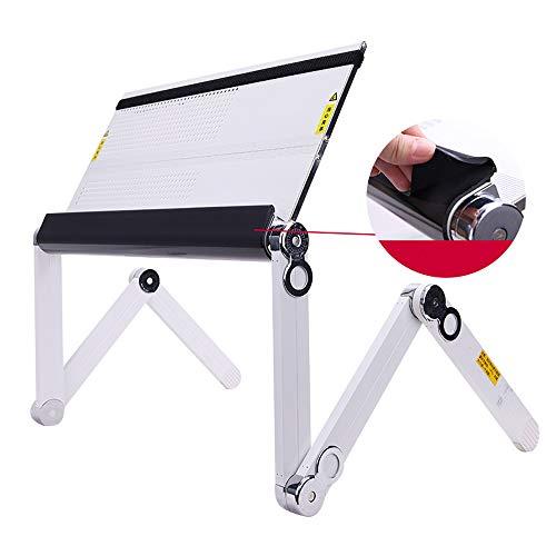 DS Notebook-Kühler Notebookständer - Aluminiumlegierung, kann flach liegend verwendet werden, 360...