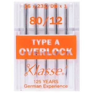 Klasse Overlock-Nähmaschine Nadeln Typ A -