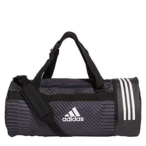 adidas Herren 3S CVRT DUF G M Teamtasche (ohne Räder) Black/Grey/White 53 cm