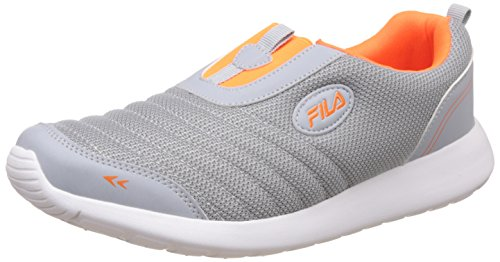 Fila Men's Smack Grey Orange Sneakers - 6 UK/India (40 EU)