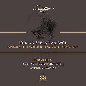 Bach, J-S : Cantates pour Basse Solo
