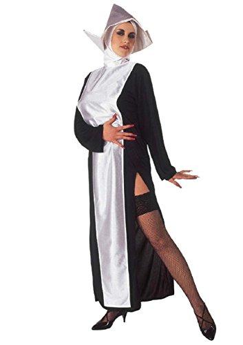 WIDMANN Costume di Carnevale Costume Donna Suora Monaca *19412-XL