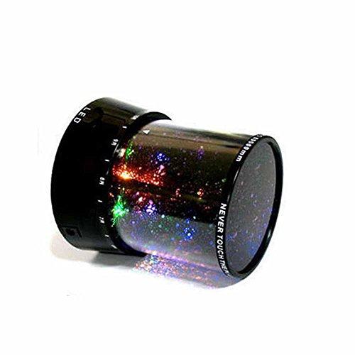 Projizieren Stern Himmel Nacht Kosmos Projektor Fee Licht LED-Lampe Dekoration (Nacht Himmel Karte)
