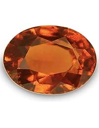 100% Super Ceylon Hessonite Garnet Stone with Lab Certified Card & Guarantee Card {hessonite Gemstone/gomed Stone Certified/saloni gomed Gemstone}