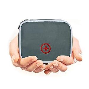 Eshow Oxford Gewebe Medizintasche für Notfälle Betreuertasche Reiseapotheke Tasche Erste Hilfe Set Medizinkoffer…