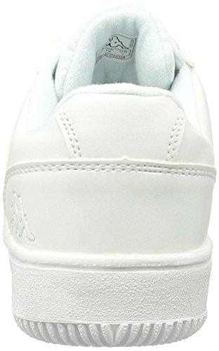 Kappa Combat, Sneakers Basses Femme Blanc (White)